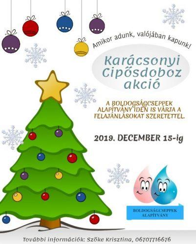 Karácsonyi Cipősdoboz akció