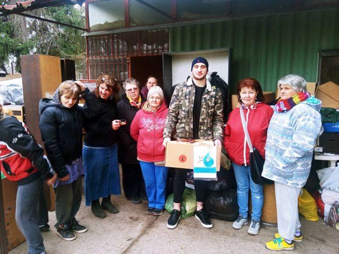Ifj. Növényi Norbert MMA ketrecharcos látogatása hozzánk