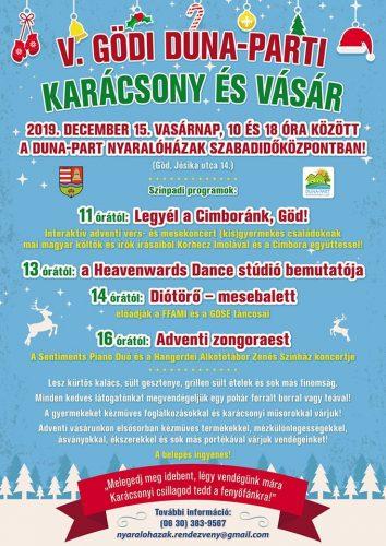 V. Gödi Duna-parti Karácsony és Vásár